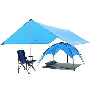 Kany Lightweight Water Resistant Sun Shelter Tarp