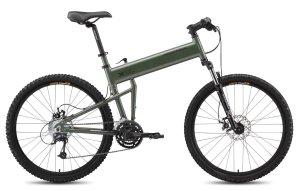 Montague Paratrooper Mountain Folding Bike 2015, Matte Cammy Green