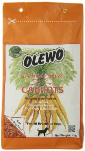 Olewo Carrots Digestive Dog Food Supplement and Effective Dog Diarrhea Relief NonGMO Product