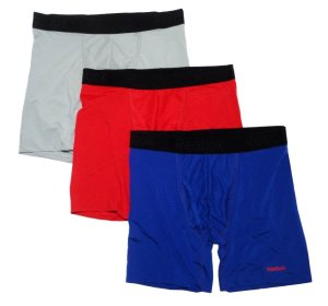 Reebok Men's Performance Boxer Briefs - 3 pack