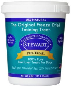 Stewart Pro-Treat Freeze Dried Training Treats for Dogs