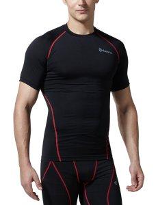 Tesla Men's Cool Dry Compression Baselayer Short Sleeve T Shirts R13