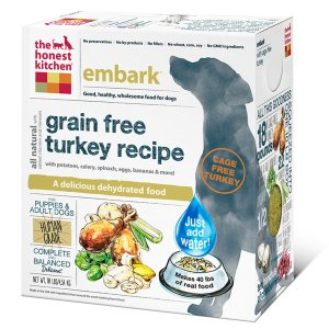The Honest Kitchen Embark Grain Free Turkey Dog Food