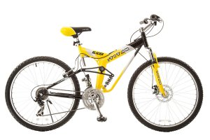Titan #135 Glacier PRO Alloy Dual Suspension All Terrain 21-Speed 19-Inch Frame Mountain Bike