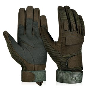 Vbiger Tactical Gloves Military Gloves Racing Gloves Full Finger Shooting Motorcycle Gloves