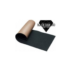 Black Diamond Longboard Grip tape Sheet Black 10 x 48