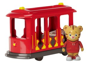 Daniel Tiger's Neighborhood Trolley with Daniel Tiger Figure
