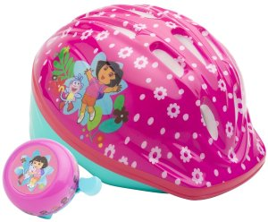 Dora Toddler Microshell Helmet (Pink)