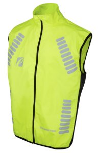 Elite Cycling Project Men's Tornado Waterproof Cycling Gilet Reflective Cycling Vest