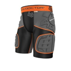 Shock Doctor Youth Ultra Shockskin 5-Pad Extended Thigh Impact Shorts