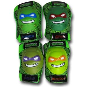 TMNT Faces Kids Elbow & Knee Pads