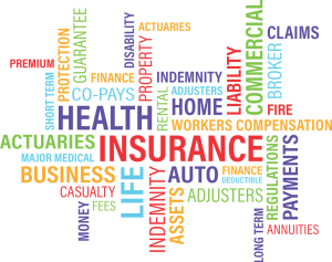 health insurance terms around the word health insurance