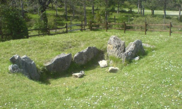 El dolmen de la Choza