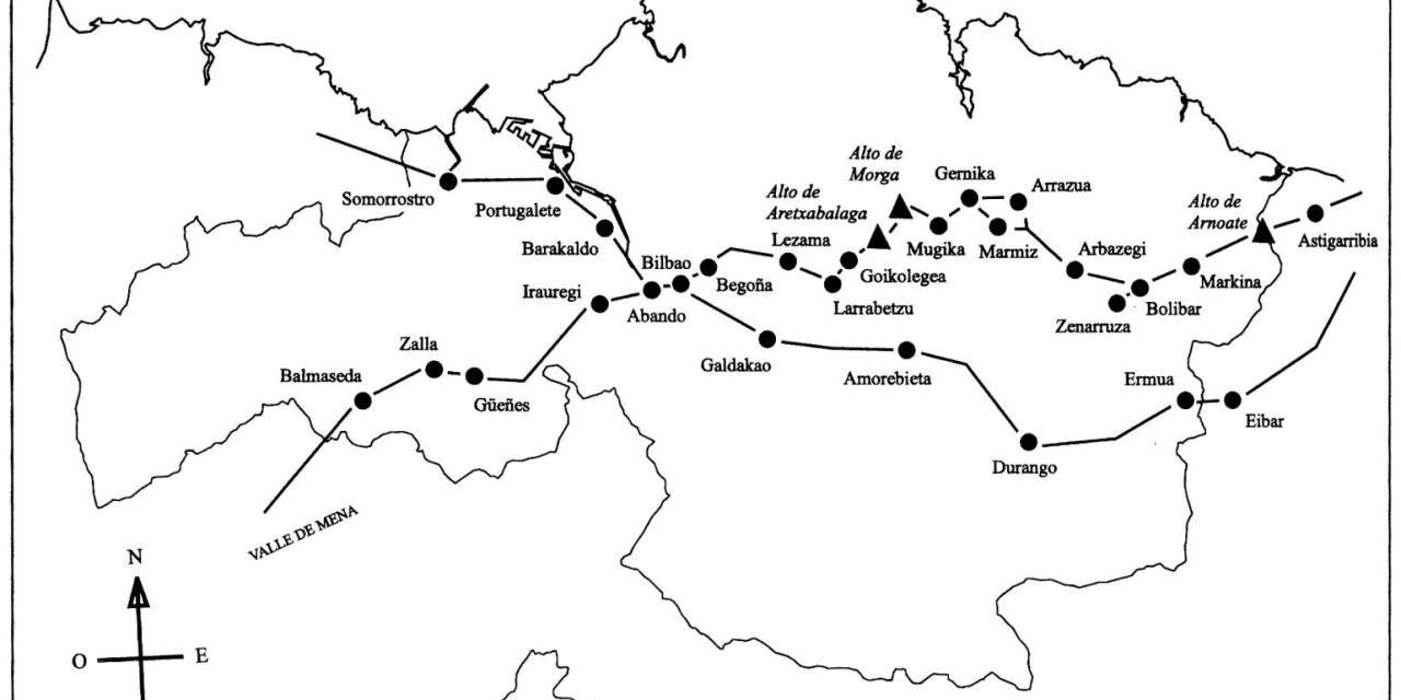 Estudio arqueológico y documental del Camino Viejo Bilbao-Gernika