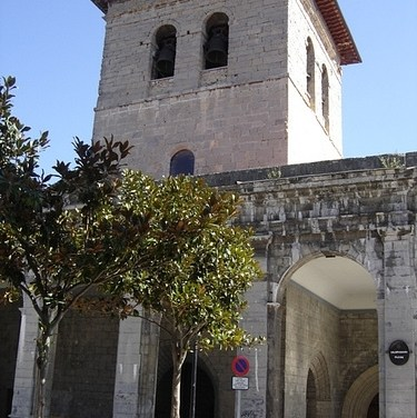 CAPILLA de SAN ANTÓN y SANTA LUCíA o del BAPTISTERIO (Santa María)