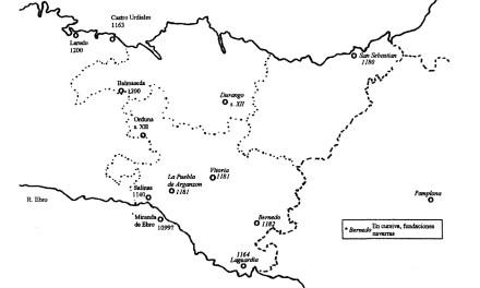 Organización jurisdiccional del territorio vizcaíno en los siglos XII-XIV (I)