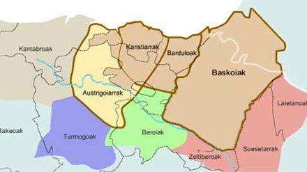 El territorio de los pueblos vascos