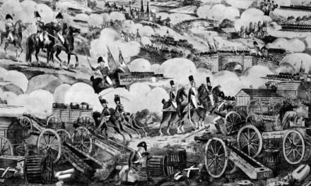 Cuando las tropas napoleónicas fueron derrotadas en Vitoria