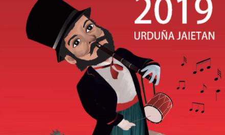 Programa de fiestas de 'Ochomayos' 2019 en Orduña