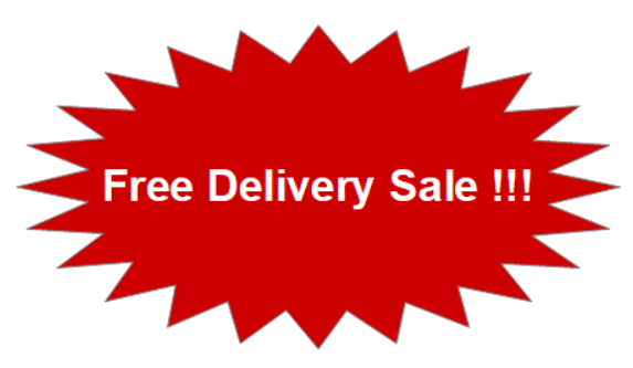 Free delivery sale!
