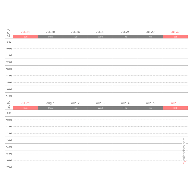 Create Free Printable Monthly Yearly Or Weekly Calendars