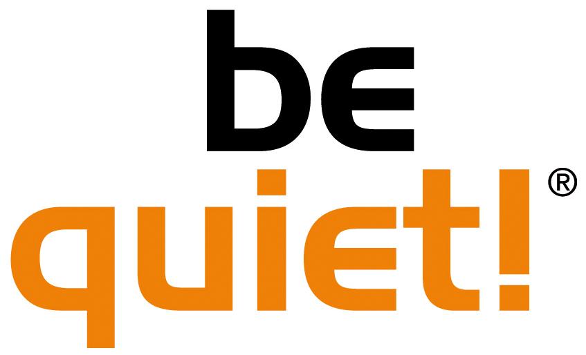 be qiuet! Logo