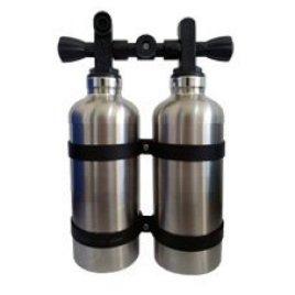 Twintank造型不锈钢保温水瓶 350ML
