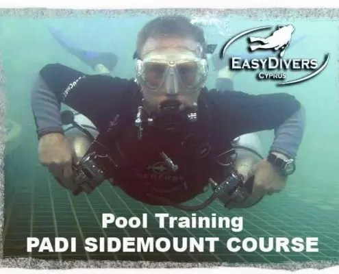 sidemount diving cyprus