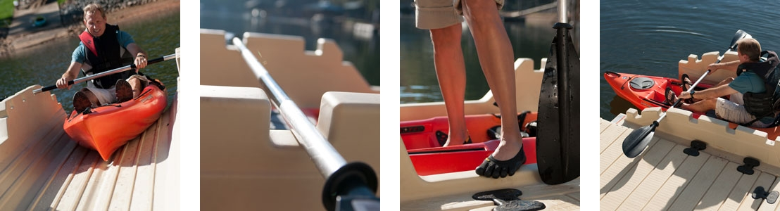 Ez Dock - Personal Kayak Launch