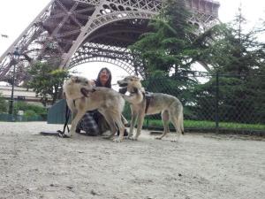 Sotto la Tour Eiffel
