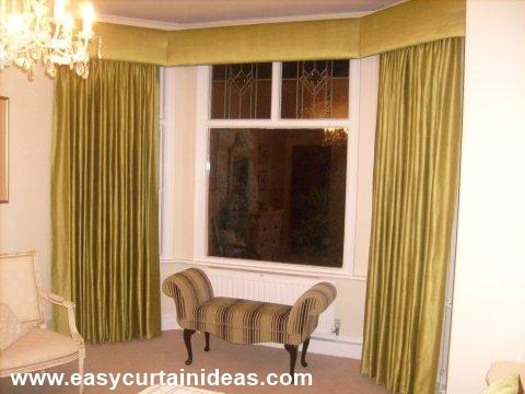 bay window curtain ideas that work
