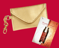 Clarins-Double-Serum-and-Business-Card-Case