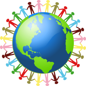 people helping people around globe
