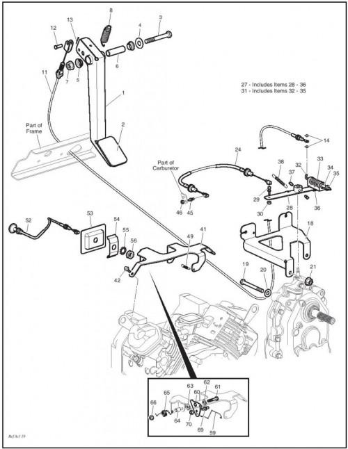 Golf Cart Ezgo 2006 Parts
