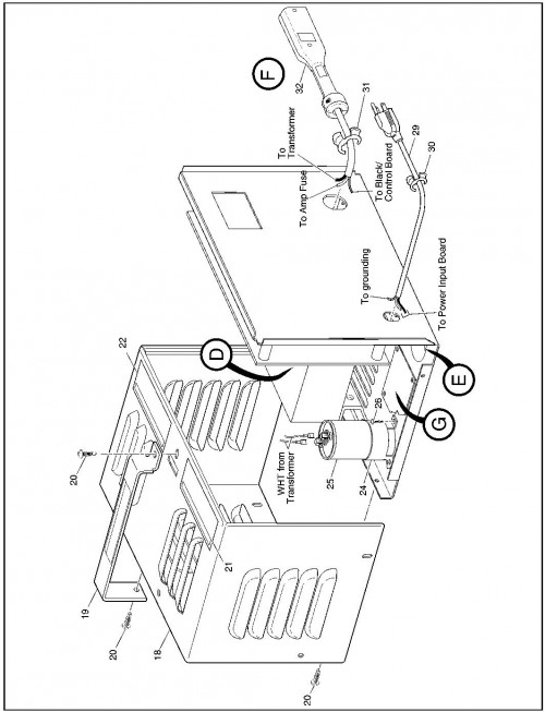 2001 Electric 2_Battery charger_2?resize=500%2C653 36 volt battery charger wiring diagram wiring diagram,Golf Cart Charger Wiring