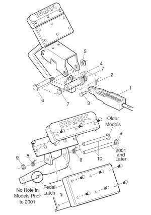 Brake System | EZGO Golf Cart
