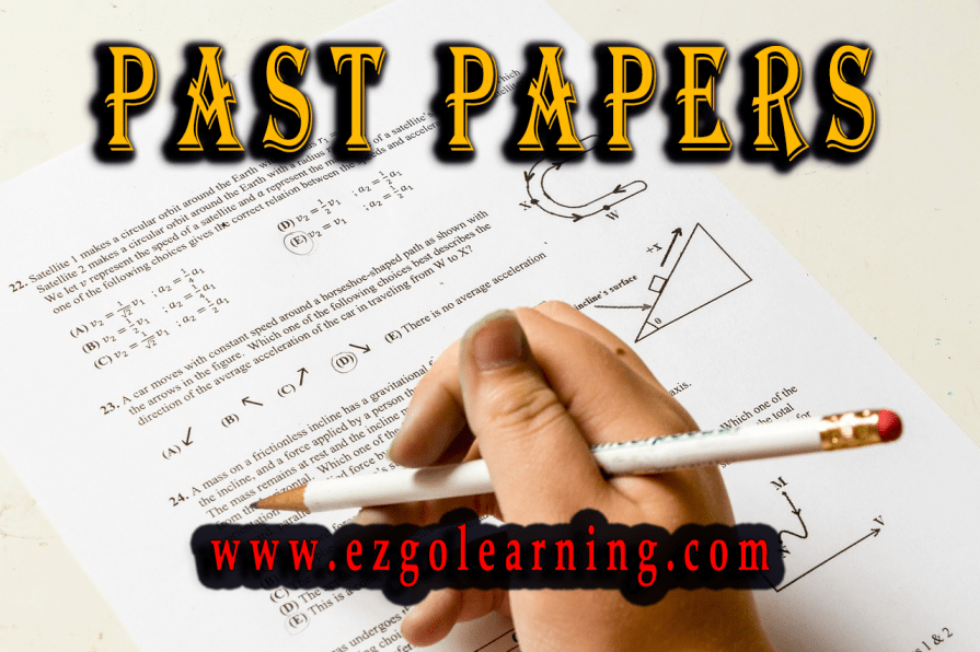Past Papers Mcqs PMS,CSS,Fpsc,Kppsc,Ppsc,Nts