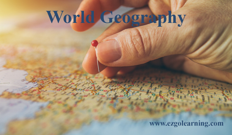 Geography of the World Mcqs Fpsc, Kppsc, Nts, Ppsc, Etea