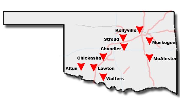 EZ GO Stores Oklahoma