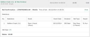 week 3 horse racing selections