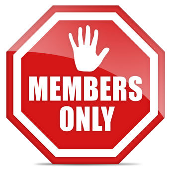 Member only icon