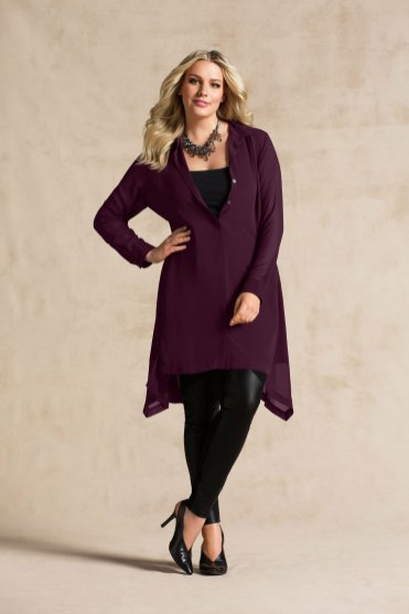 Grace Hill Woman Shirt Dress Tunic