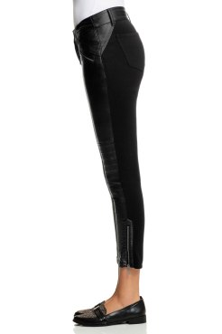 Emerge Faux Leather Front Pants