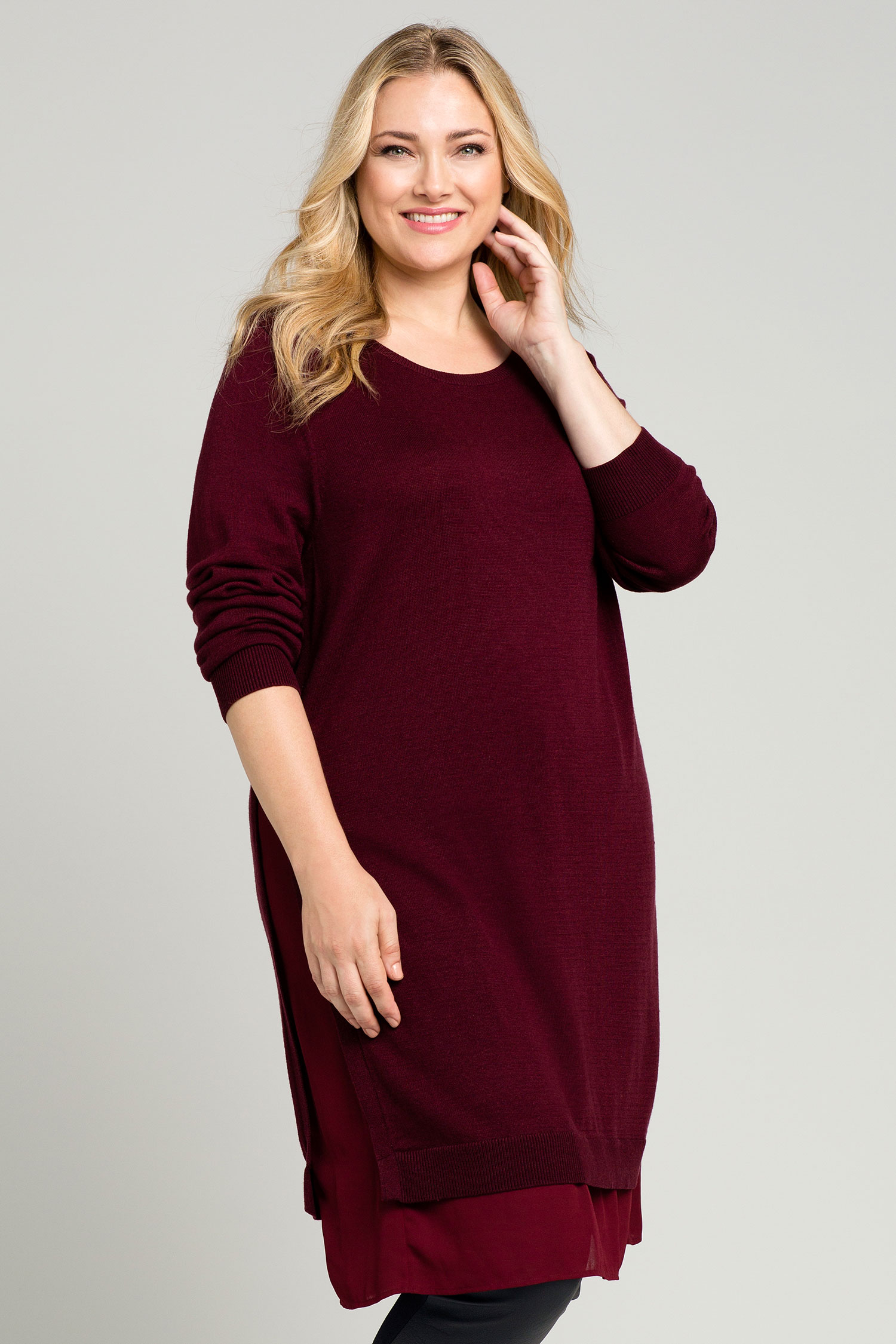 Emerge Woman Knit Tunic