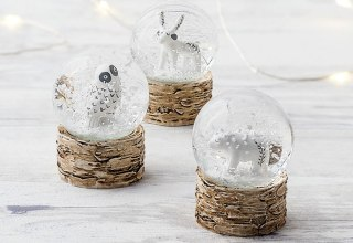 Creature Globe Set of 3