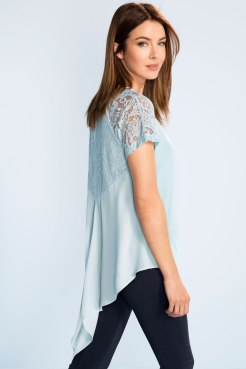Grace Hill Lace Detail Top
