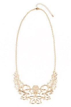 Paisley Statement Necklace