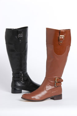 Sara leather boots