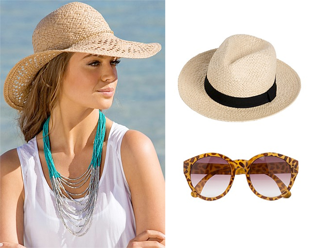 Sunhat | Panama | Animal Sunglasses