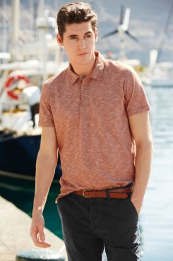 Planner Assistant, John has this Polo Shirt on his wishlist. Style Next Slub Pique Poloshirt